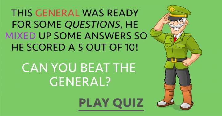 Challenging General Knowledge Quiz