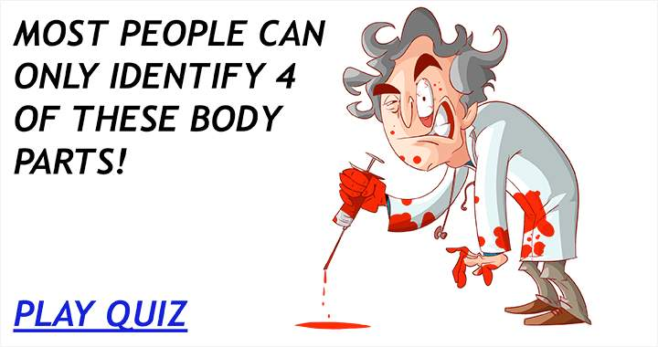 Most people can only identify 4 of these body parts!