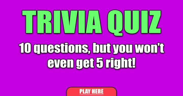 Fun Trivia Quiz