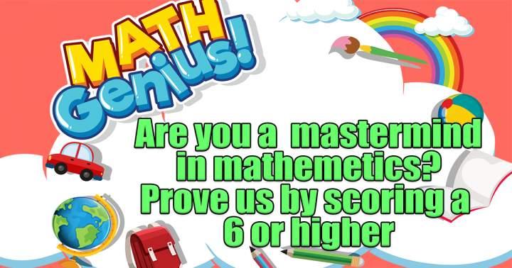 Quiz For Mathematicians