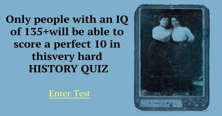 Challenging History Trivia