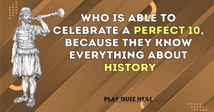 History Quiz